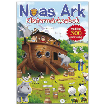 Klistermärkesbok - Noas Ark