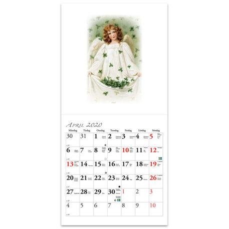 Almanacka med änglar 2020