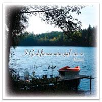Dubbelt kort - I Gud finner min själ