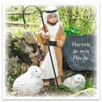 Dubbelt kort - Herren är min herde