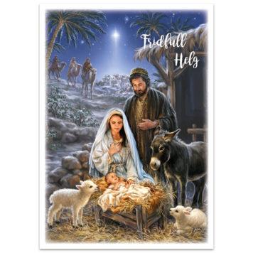 Dubbelt julkort - bo5010
