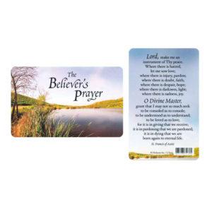 Bokmärke - Franciskus bön