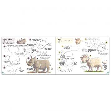 Lär dig teckna Noas ark