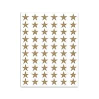 Klistermärken - Guldstjärnor
