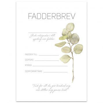 bp752 - Fadderbrev