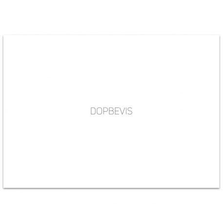 bp754 - Kuvert dopbevis