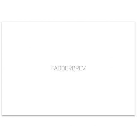 bp755 - Kuvert fadderbrev