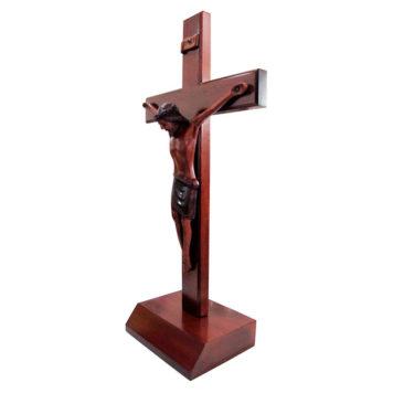 Krucifix med fot - 40 cm