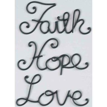 Väggtexter - Faith