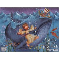 Pussel - Jona och den stora fisken