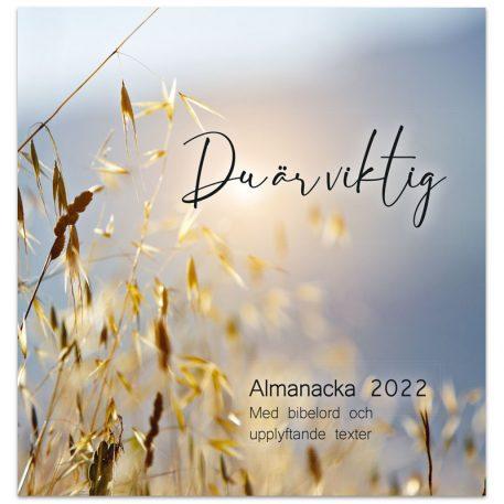 Du är viktig - Almanacka 2022