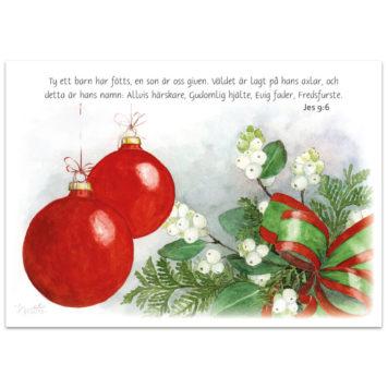 Julkort - Jul1566