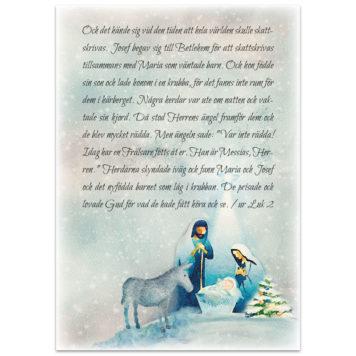 Julkort - Jul1568