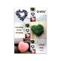 Dubbelt kort - Grattis