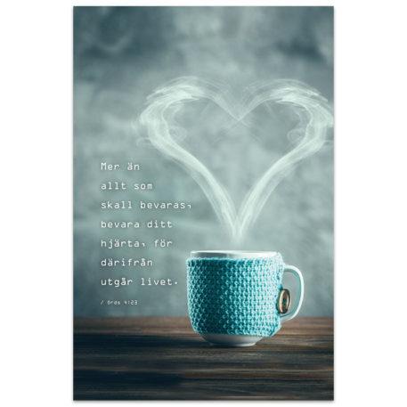 Anteckningsbok - Bevara ditt hjärta