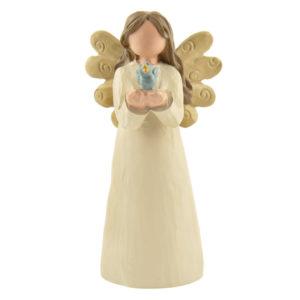 Ängel - Fågel i hand