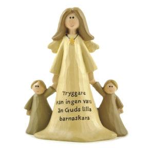 Ängel med 2 barn - Trygg
