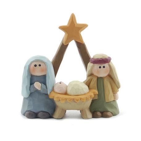 Heliga familjen med stjärna