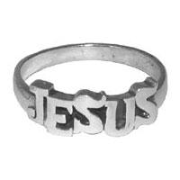 Silverring - Jesus