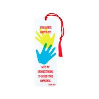 Tofsbokmärke - Your hands